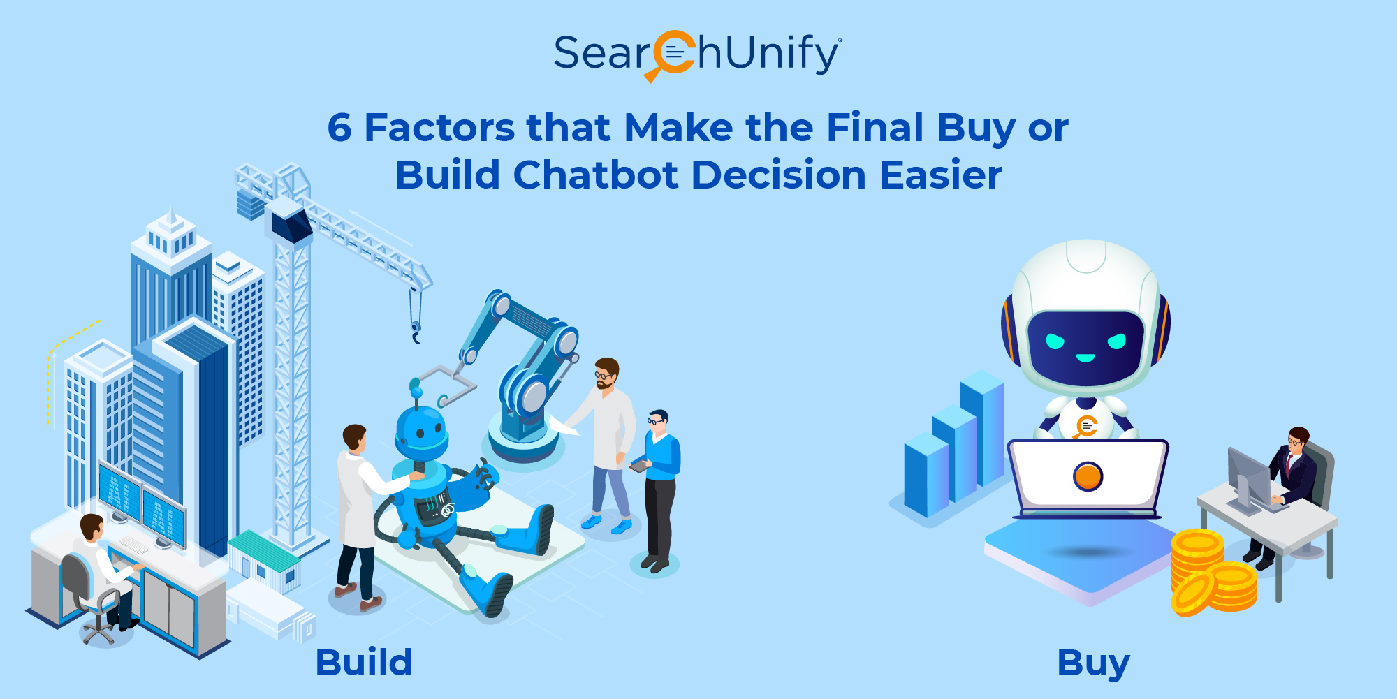 6 Factors that Make the Final Buy or Build Chatbot Decision Easier